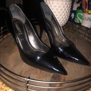 Dolce & Gabbana Black Leather Size 7.5/38   $805